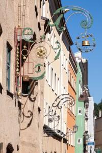 Wasserburg Schilder